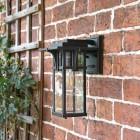 Antique Bronze Wall Lantern