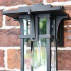 Vintage Art Deco Wall Lantern