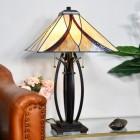 'Coltmoore' Tiffany Lamp in Situ