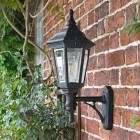 "Side view of ""Keyston"" wall lantern"