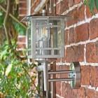 Stainless Steel Wall Lantern Side Profile
