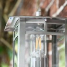 Stainless Steel Wall Lantern Top