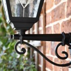 Wall Lantern Scrolled Bracket