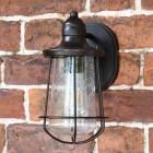 Antique Bronze Standard Nautical Wall Lantern