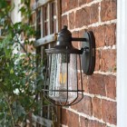 Antique Bronze Nautical Wall Lantern