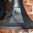 Classical Black Top Fix Wall Light