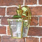 Polished Brass Top-Fix Lantern