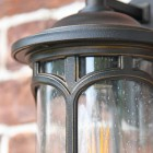 Close up of cylinder frame and medieval design