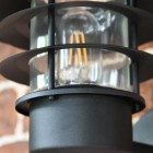Close up of bulb and lantern