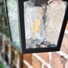 Frosted Glass Wall Lantern