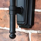 Deluxe Barn Hanging Wall Light Backplate & Lower Finial