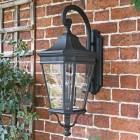 Large Black Ornate Wall Light