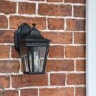 Side angle of Bramford Bank Wall Lantern