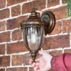 'Sandyway' Traditional Bronze Wall Lantern