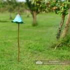 Tall Mushroom Garden Spike in Situ in the Garden