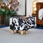 Cow Foot Stool in Living Room