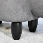 Close up of dark wooden legs