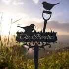 Robin on Spade Memorial Ground Spike