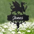 Welsh Dragon Memorial Ground Spike