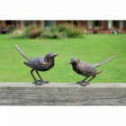 Traditional Bird Sculpture Set
