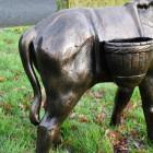 Close up of Donkey rear and basket