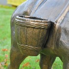 Close up of basket and detailing
