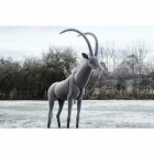 "East African ""Sable Antelope"" Sculpture"