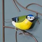 Blue Tit Wall Art Hand-Painted Bird