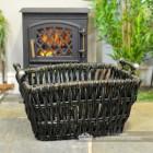 Fireside Wicker Log Basket