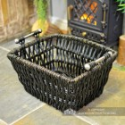 Top View of the Wicker Basket