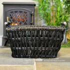 Side View of the Wicker Basket