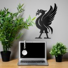 Liver Bird  Wall Art in Situ in the Office