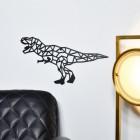 T-Rex Wall Art in Situ