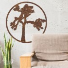 Joshua Tree Wall Art on a White Wall