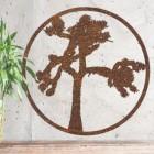 Joshua Tree Wall Art on a Rustic Wall