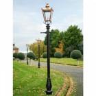 Victorian Garden  Lamp Post In Copper 3.2m