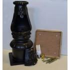 Victorian Lamp Post Black - Fitting Kit