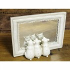 Vintage Cream 'Three Little Pigs' Mirror