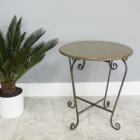 Scrolled Side table In Situ In The Living Room