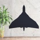 Vulcan Aircraft Wall Art Mounted to Wall