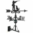 Large Game Season Weathervane on the Universal Bracket Horizontally