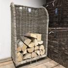 Wicker Log Trolley
