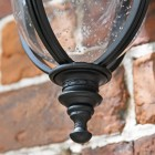 Bottom Finial on the Lantern