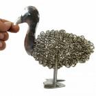 Wire Duck Sculpture