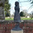 Wonderland Alice Finished In Antique Bronze