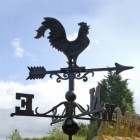 Cast Iron classic Rooster Weathervane