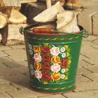 Hand Painted Log Bucket XXL