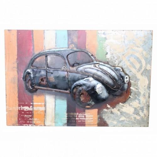 Beetle 3D Wall Art