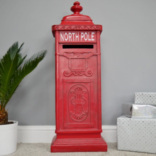 North Pole Red Mail Box