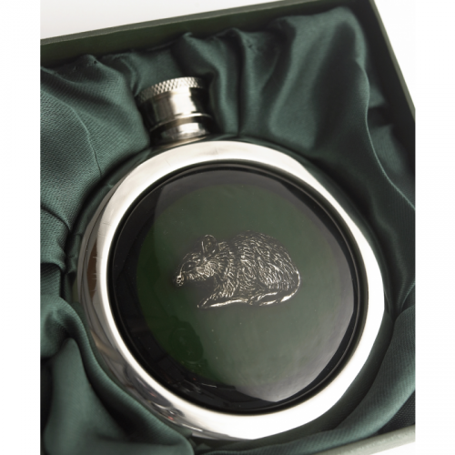 Rat Whisky Hip Flask